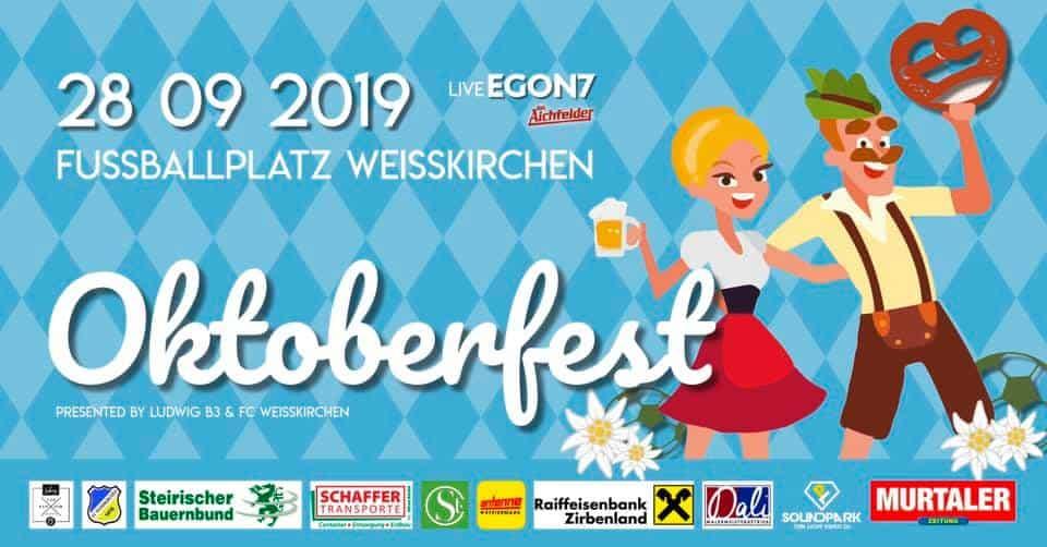 Oktoberfest am 28.09.2019 am Fußballplatz Weißkirchen
