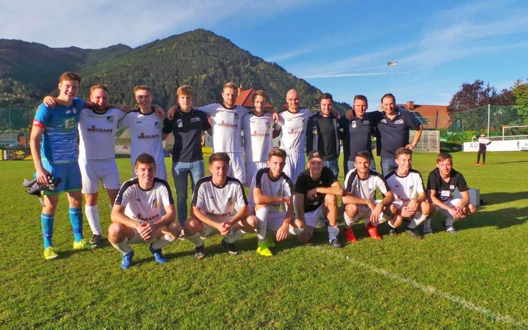 Auswärtssieg 0:4 (0:1) gegen Scheifling/St. Lor.