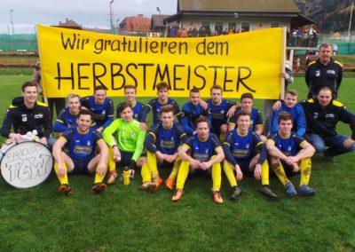 FC Weisskirchen Herbstmeister Fantrommel