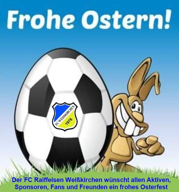 Ein Frohes Osterfest allen Aktiven, Sponsoren, Fans und Freunden …