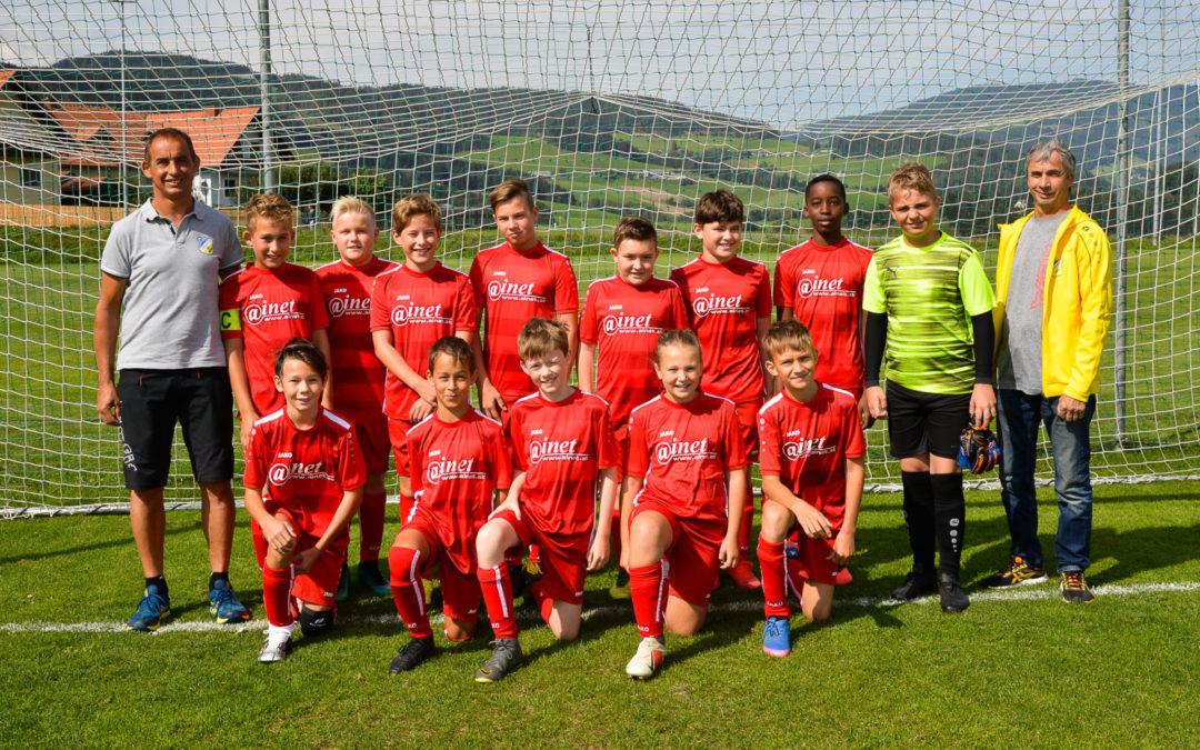 Die U12 erkämpft Unentschieden im Derby beim FC Obdach …