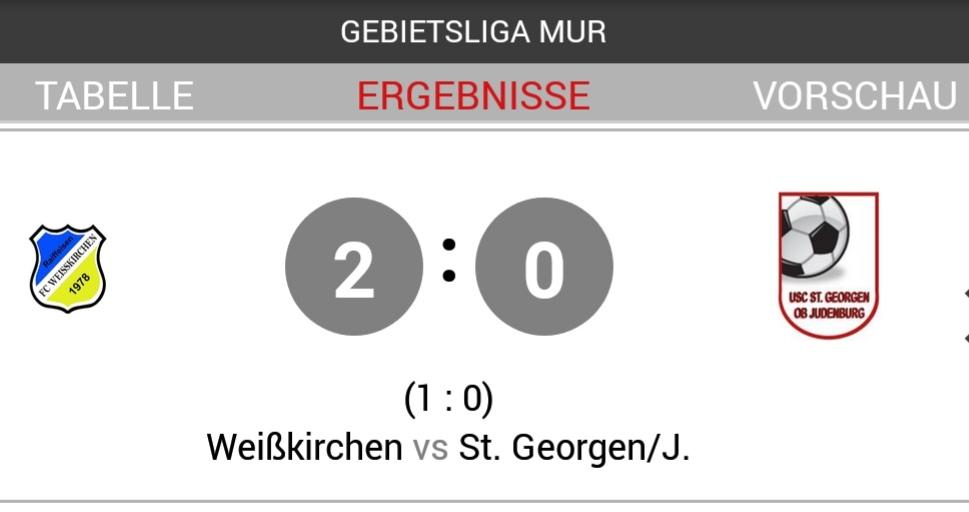 Sieg im ersten Heimspiel gegen USC Georgen