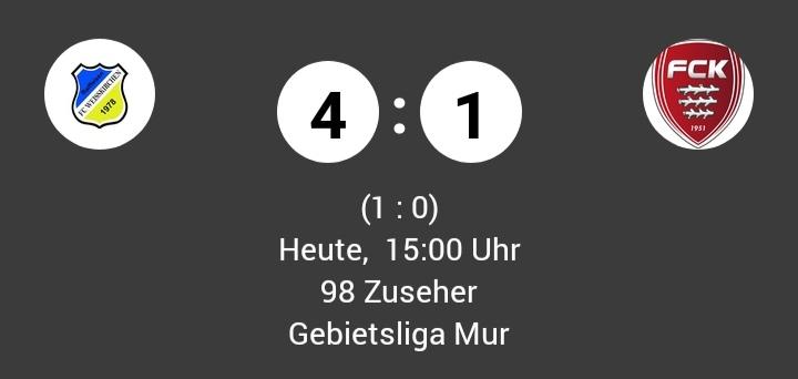 Der FC Weißkirchen bleibt an der Spitze