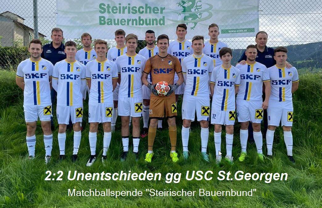 Elfmeter in der 94. Minute verhinderte 4. Sieg des FC RAIFFEISEN Weißkirchen