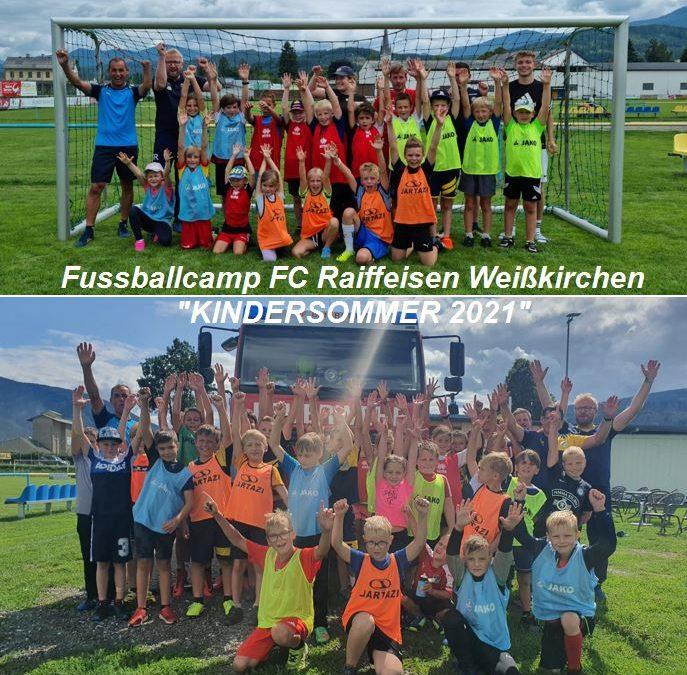 Weißkirchner Kindersommer – FC Raiffeisen Weißkirchen Fussballcamp